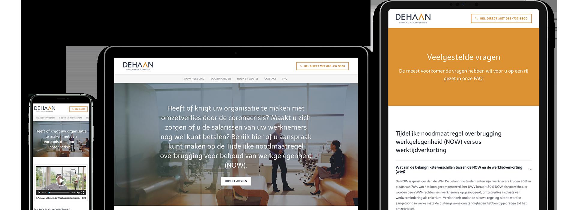 Twee websites binnen no-time ontwikkeld.